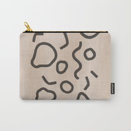 Simple Confetti Carry-All Pouch