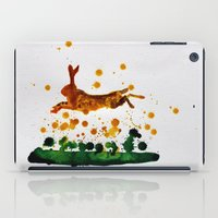 hare iPad Cases featuring Hare by Condor