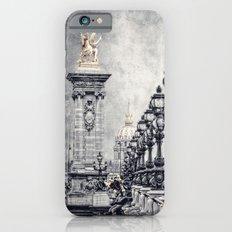 Paris pompous Slim Case iPhone 6s