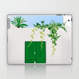 Green Door Laptop & iPad Skin