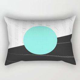Teal Rectangular Pillow