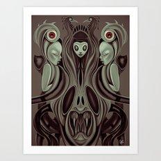 The Hell's Gate Art Print