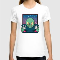 invader zim T-shirts featuring Invader by Eliseo Diaz