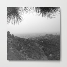 Griffith Observatory Hollywood Hills Metal Print