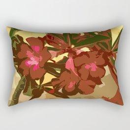 Beautiful Excotic Flowers Rectangular Pillow