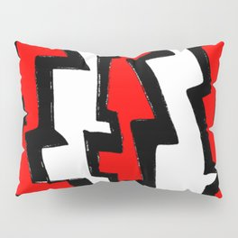 Thunder and abstraction 3-thunderbolt,thunder,storm,fire,ligthning,electric,rumble Pillow Sham