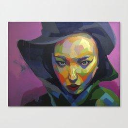Cine negro Canvas Print