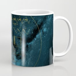 Voyager and the Golden Record - Space | Science | Sagan Coffee Mug