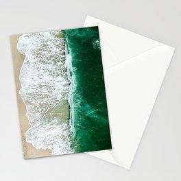 miami beach aerial view Stationery Cards