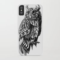 bioworkz iPhone & iPod Cases featuring Owl 2.0 by BIOWORKZ