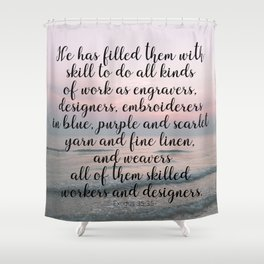 Ode to a designer Shower Curtain