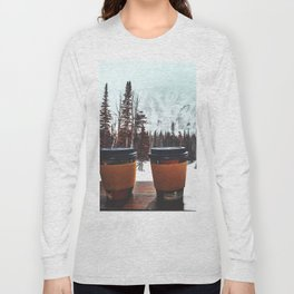 Snow, coffee and you * Long Sleeve T-shirt