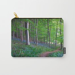 Woodland Bluebells Carry-All Pouch