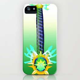 Fusion Keyblade Guitar #125 - Aubade & X-Blade iPhone Case
