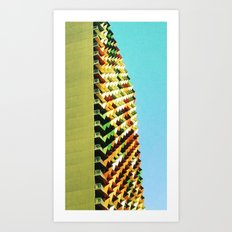Build it Up Art Print