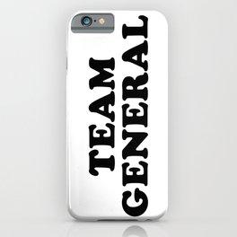 Team General iPhone Case