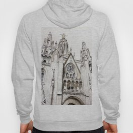 Gothic cathedral, architecture, original graphic art Hoody