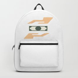Money Transaction Backpack