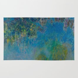 Claude Monet Wisteria Rug