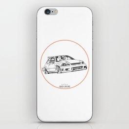 Crazy Car Art 0217 iPhone Skin
