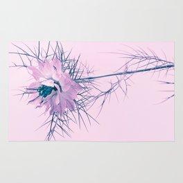 pink spring flower Rug