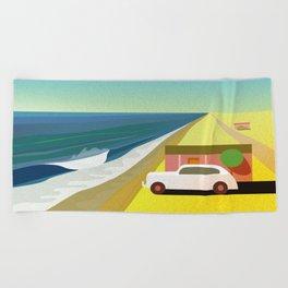 Mexican Honeymoon Beach Towel