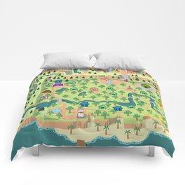 Animal Crossing (どうぶつの 森) Comforters