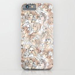 Wiggy Women iPhone Case