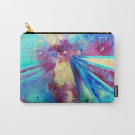 Reach Beyond: Rise by Nadia J Art Carry-All Pouch