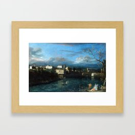 Bernardo Bellotto Vaprio d'Adda Framed Art Print