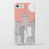 skyline iPhone & iPod Cases featuring Skyline  by  Steve Wade ( Swade)