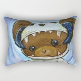 Mr. Chompypants meets a Wampa Rectangular Pillow