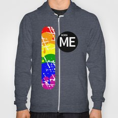 Freedom flag Rainbow Born Me Hoody