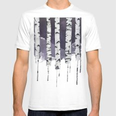 Stardust MEDIUM Mens Fitted Tee White