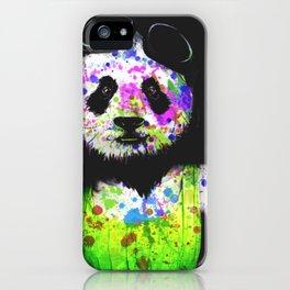 Panda Head iPhone Case