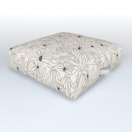 Blooming Outdoor Floor Cushion