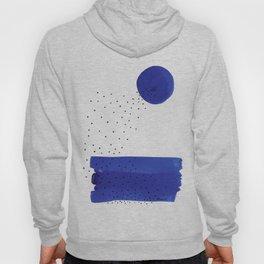 Bright blue series #2 Hoody