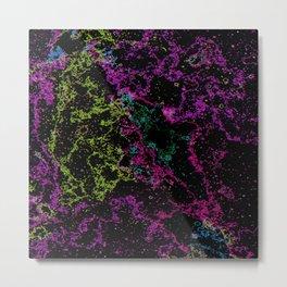 Distortions Space Metal Print