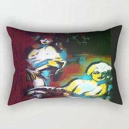 Les Amoureux Rectangular Pillow