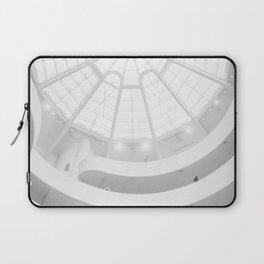 Guggenheim Interior | Frank Frank Lloyd Wright Architect | New York Laptop Sleeve
