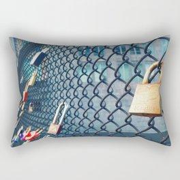 Heart on Lock  Rectangular Pillow