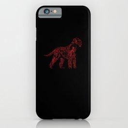 Giant Schnauzer Portrait Dog Mom Love iPhone Case