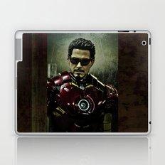 Tony Stark in Iron man costume  Laptop & iPad Skin