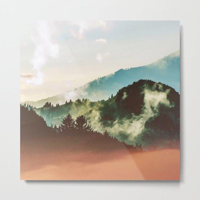 Mighty Mountain #society6 #decor #buyart Metal Print