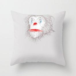 Animalfree circuses - Ape Throw Pillow
