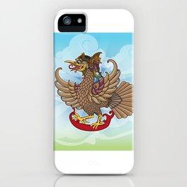'Jatayu' or Eagle on the story of the Ramayana iPhone Case