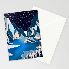 Star Peaks Stationery Cards