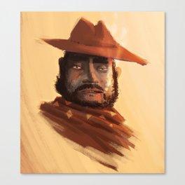 Vaquero Mexicano Canvas Print