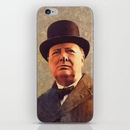 Winston Churchill, Prime Minister iPhone Skin