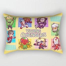 Young Avengers Rectangular Pillow